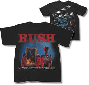 Rush Moving Pictures Mens T Shirt