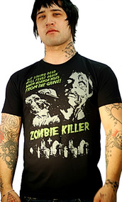 ZOMBIE KILLER MENS T SHIRT