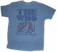 Junk Food Mens The Who Kids Allright Tri-Blend Vintage Style Tee Shirt