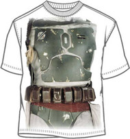 Star Wars Boba Fett Costume T Shirt