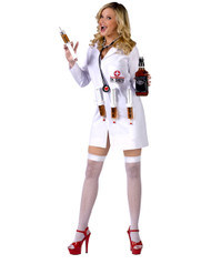 Sexy Womens Dr Shots Costum