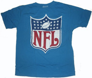 Junk Food Mens NFL Cracked Vintage NFL Logo Tee Shirt
