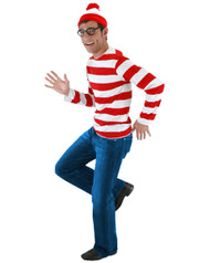 Adult Wheres Waldo Costume