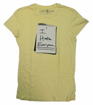 Little Miss Sunshine I Hate Everyone Juniors T-Shirt
