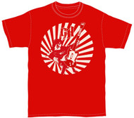Guitar Hero II Red Rocker Mens Tee Shirt