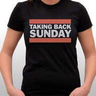 Taking Back Sunday Run TBS Juniors Tee Shirt