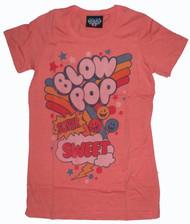 Retro Blow Pop Super Sweet Womens Tee Shirt by Junk Food Clothing