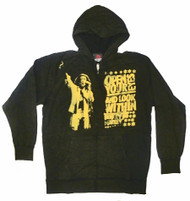Bob Marley Open Your Eyes Mens Zip Hoodie