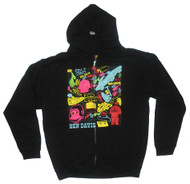 Ben Davis All Over Print Mens Zipper Hoodie