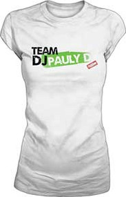 Jersey Shore Team DJ Pauly D Juniors Tee Shirt