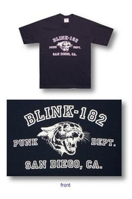 Blink 182 San Diego Mens T Shirt