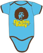 Jimi Hendrix Electric Baby Infant Bodysuit