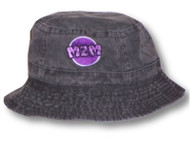 M2M Purple Logo Bucket Cap