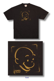 Curious George Brush Stencil Tee Shirt