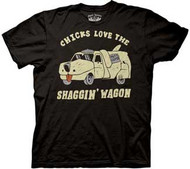 Dumb and Dumber Chicks Love The Shaggin Wagon Mens Tee Shirt