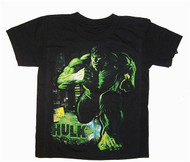 Marvel Comics The Hulk Glow Boys Tee Shirt