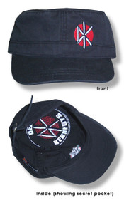 The Dead Kennedys Hidden Pocket Cadet Cap