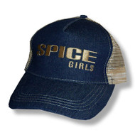 The Spice Girls Denim Trucker's Cap