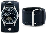 Nemesis Black Multi Dial Self Winding Watch
