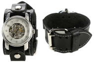 Nemesis Black Mechanical Self Winding Watch