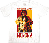 The Princess Bride Morons Adult Tee Shirt