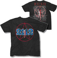Rush 2112 Starman Mens Tee Shirt