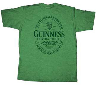 Guinness Simple Vintage Style Mens T Shirt