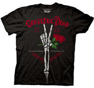 Grateful Dead Skeleton Hand Mens Tee Shirt