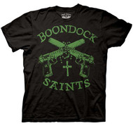 Boondock Saints with Halos Mens Tee Shirt