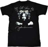 John Lennon Shine On Mens Tee Shirt
