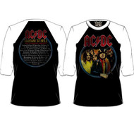 AC/DC Highway to Hell Mens Baseball Jersey Shirt