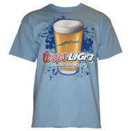 Coors Light The Silver Bullet Blue Mens Tee Shirt