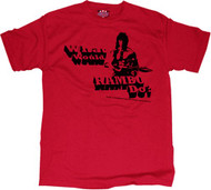 What Would Rambo Do Mens Tee Shirt