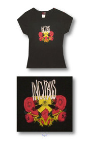 Incubus Cover Art Junior Baby Doll Tee Shirt
