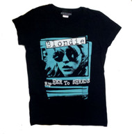 Blondie Rip Her To Shreds Juniors T-Shirt