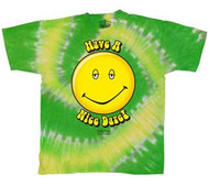 Dazed and Confused Have a Nice Daze Tie Dye Mens Tee Shirt