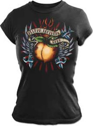 The Allman Brothers Tattoo Juniors Vintage Style Tee Shirt