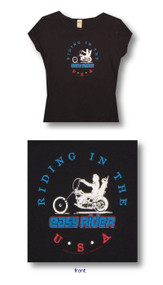 Easy Rider USA Juniors Tee Shirt
