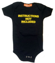 Instructions Not Included Infant One Piece