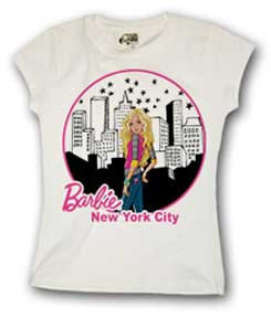 Barbie New York City Girls Tee Shirt