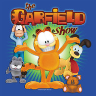 The Garfield Show Vintage Style Juniors Tee Shirt
