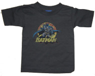 Batman Rough Distressed Toddler Tee Shirt