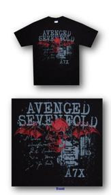 Avenged Sevenfold Sketch Mens Tee Shirt