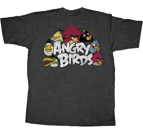 Angry Birds The Nest Mens Tee Shirt