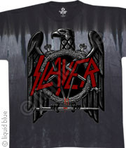 Slayer Eagle Tie Dye Mens Tee Shirt