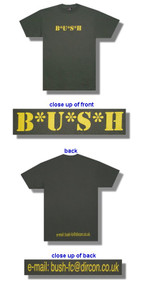 BUSH Mash Logo Mens Tee Shirt