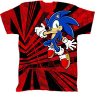 SONIC THE HEDGEHOG JUMP SKATE YOUTH T SHIRT