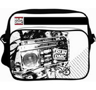 RUN DMC MASHUP WHITE MESSENGER BAG