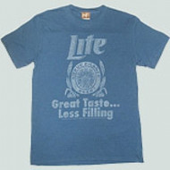 Miller Lite Taste Great Less Filling Mens T Shirt