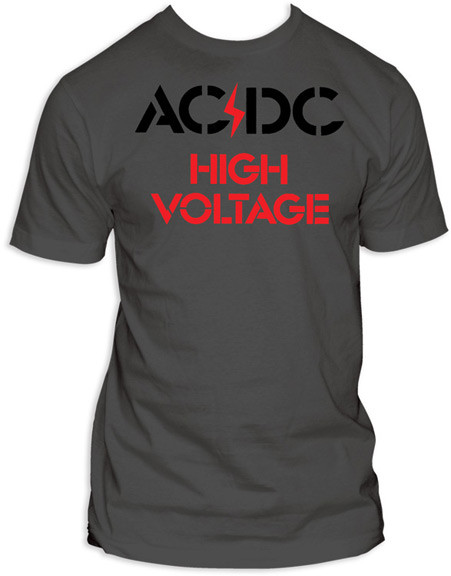 ACDC High Voltage Mens Tee Shirt